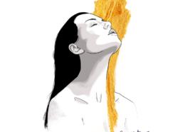 portrait-alicia Gomez del Rio artiste fréjus